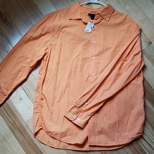 Mens orange dress shirt